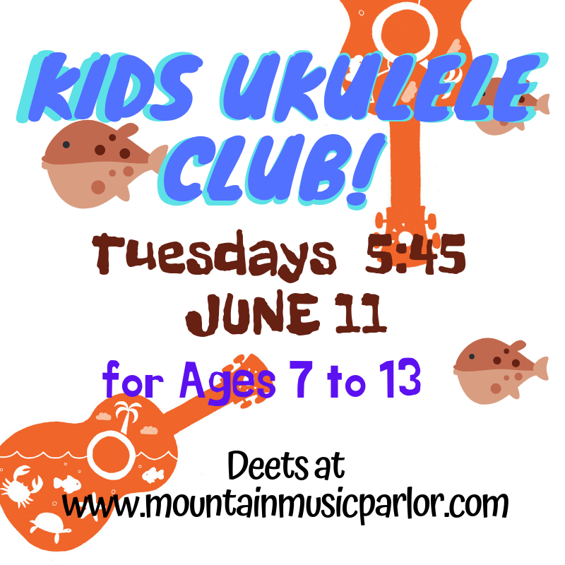 Childrens Classes! ~ Mountain Music Parlor, Reno